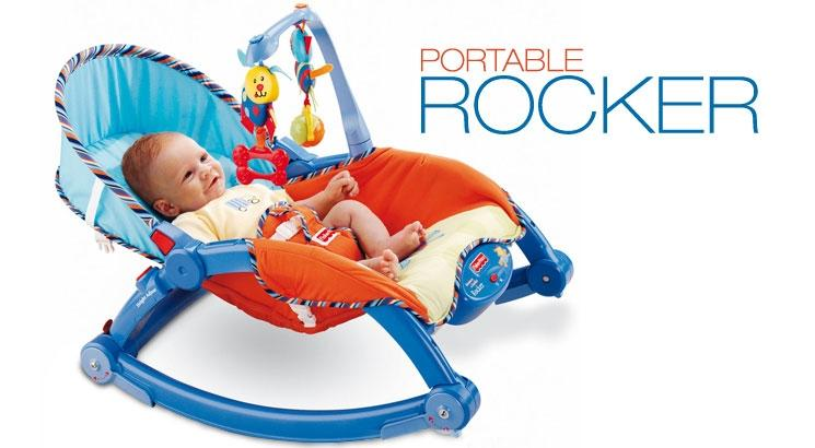 Fisher Price Rocker Blue