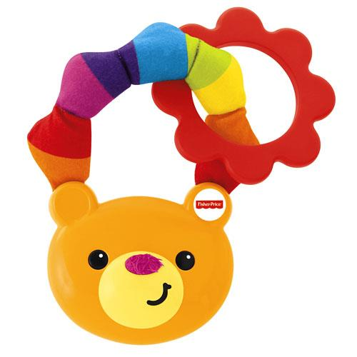 Fisher Price Soft Ring Teether 100% Mattel Malaysia