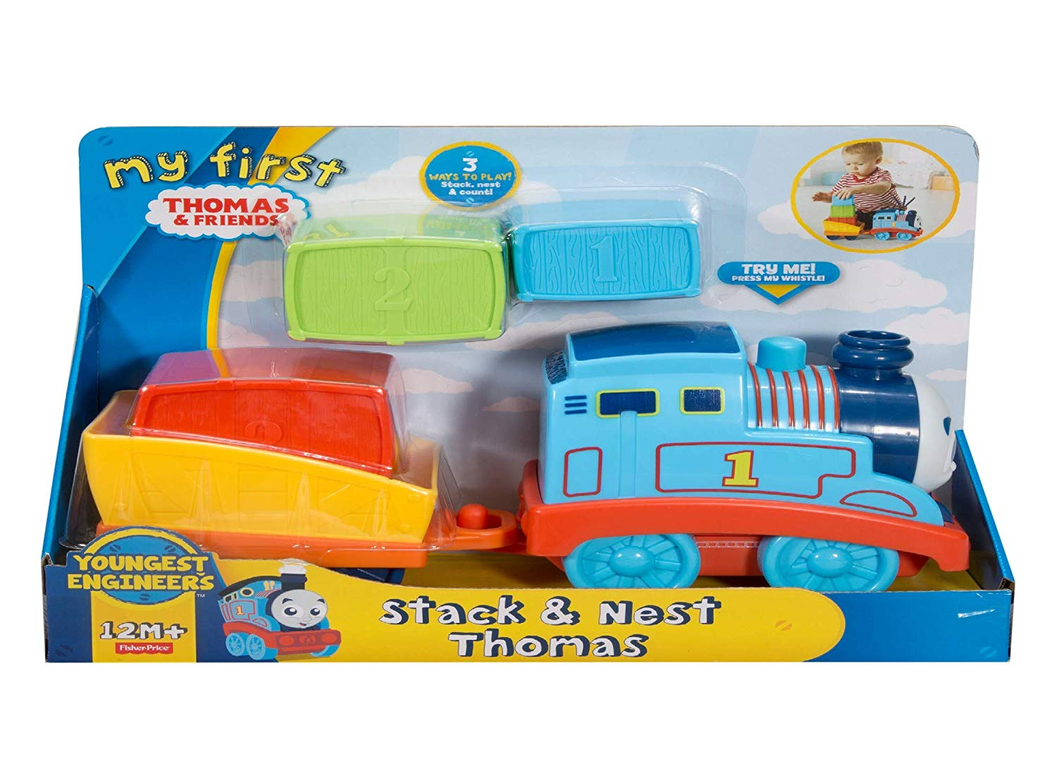 a66ce30699aa Fisher-Price My First Thomas & Friends, Stack & Nest Thomas