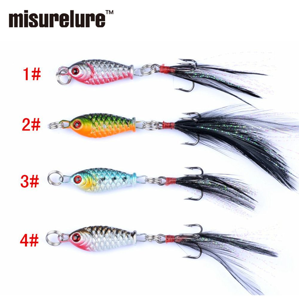 Fishing Lures - Lu Ya Bait MINI Lead Fish 4g75mm Road Sub  Plate