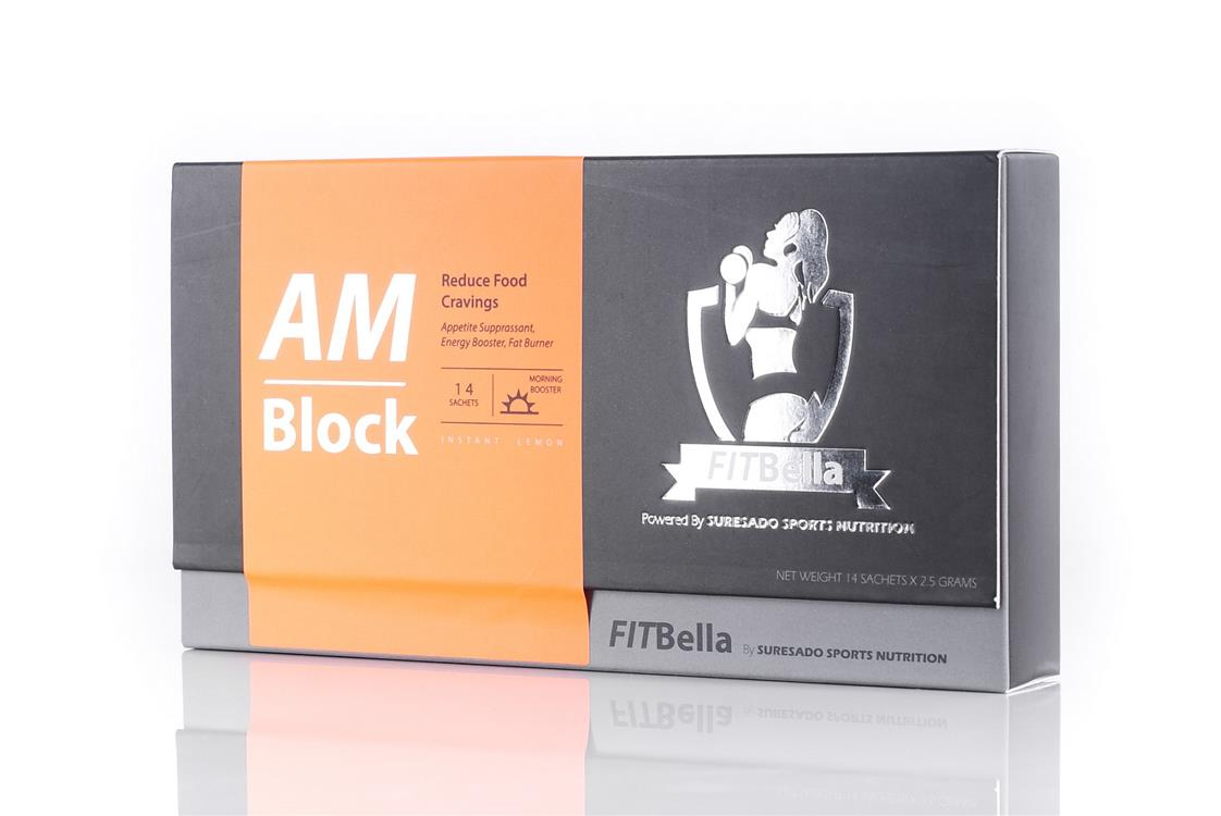 FITBella AM Block and PM Flush Slimming Set 28 Days Pack