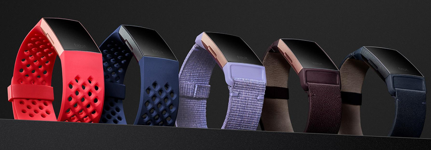 Fitbit Charge 3 Band Leather - Plum
