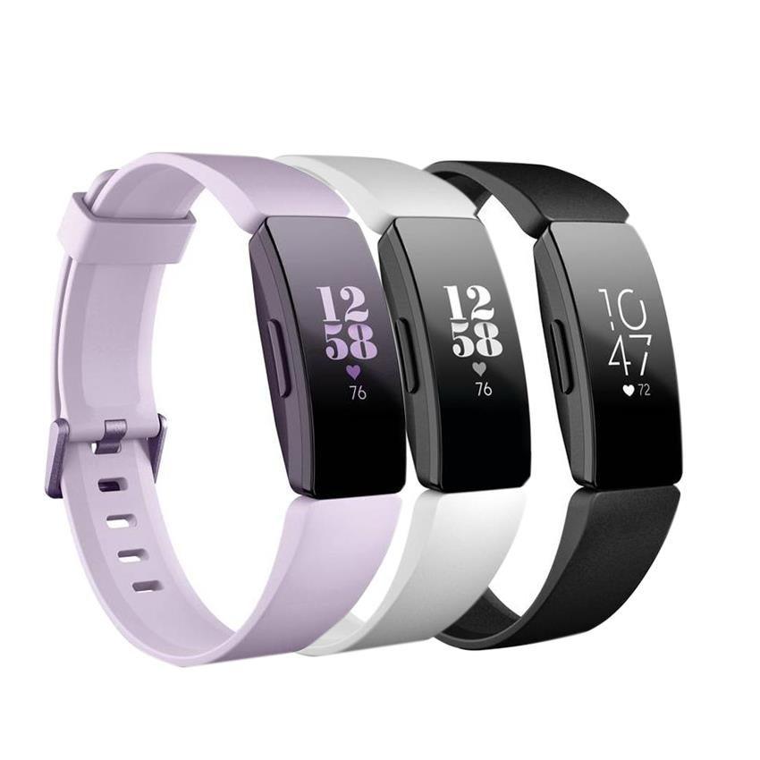 Fitbit Inspire Hr Fitness Tracker FB413 - (Black/White Black/Lilac)