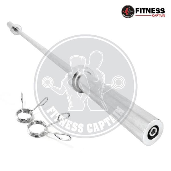 Fitness Captain Gym Olympic 2.2m Straight Exercise Barbell