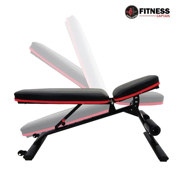Fitness Captain Multifunction Solid Dumbbell Workout Bench Sports Gym