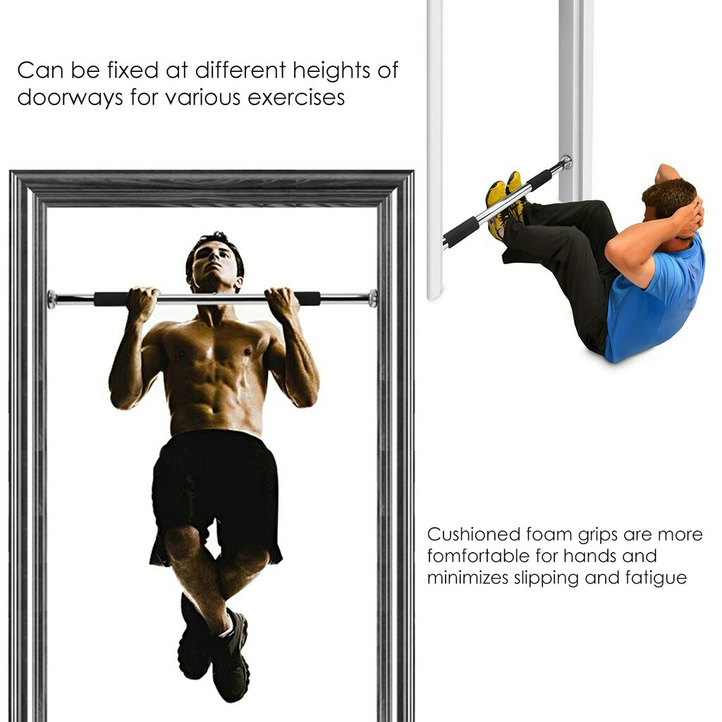 Fitness Home Doorway Workout Pull-Up Bar Gym Chin Up Bar