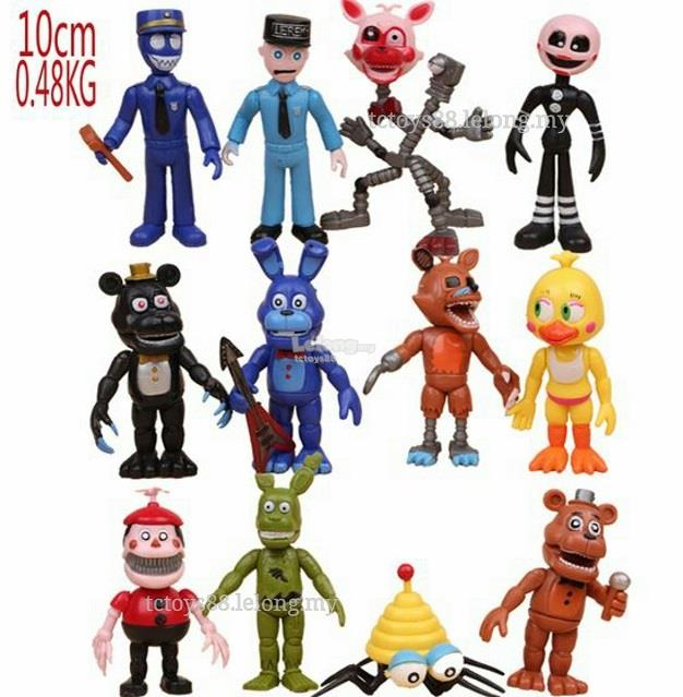 Five Nights at Freddy's Figure. 10cm Big. Five Nights Freddy Toy.