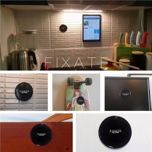 Fixate Gel Pads Magical Super Powerful sticky phone holder or anything