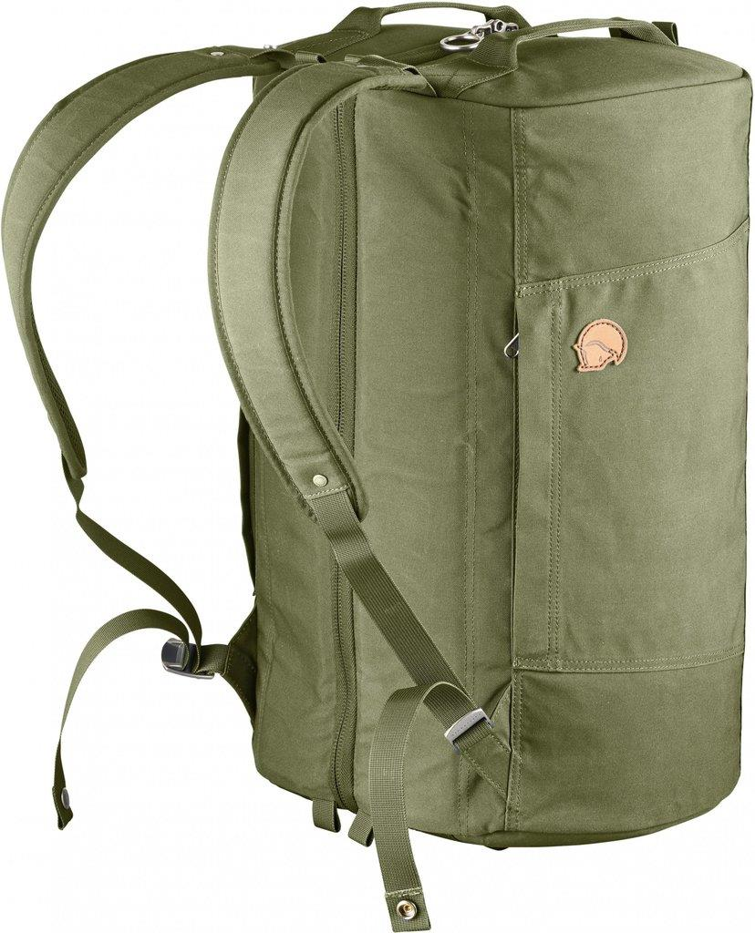 FJALLRAVEN SPLITPACK TRAVEL DUFFEL BAG - GREEN