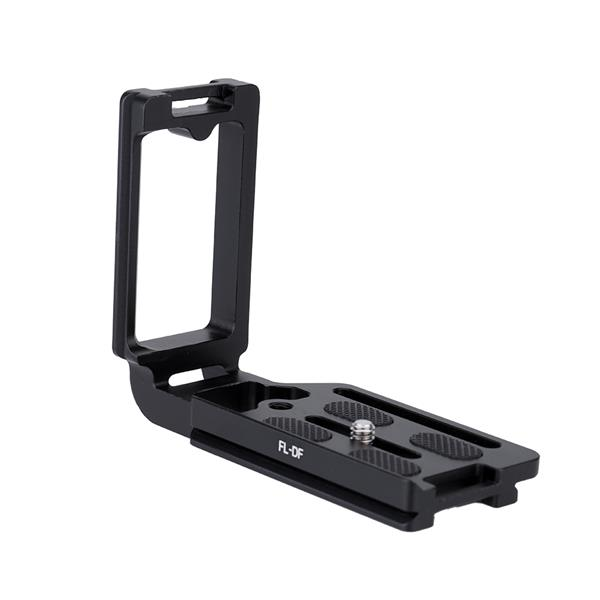 FL-DF Black Aluminum Dedicated Camera Quick Release L-Plate Hand Grip