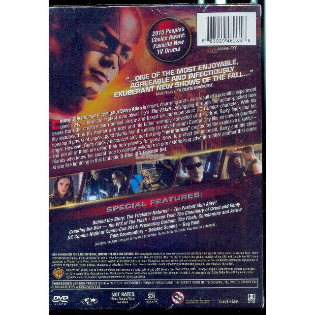 The Flash - The Complete First Season - New DVD