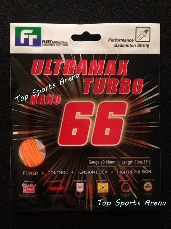 Fleet Ultramax Turbo Nano 66 Badminton String (5pcs)