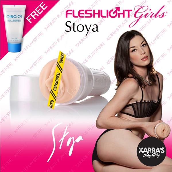 Fleshlight Girls 'Stoya' Vagina Pussy Sex Play For Men