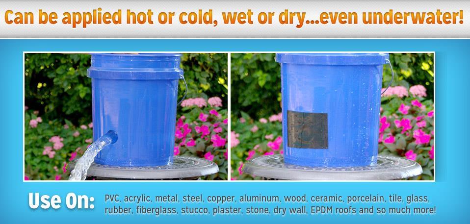 Flex Tape Strong Rubberized Waterproof Tape 4 Wide Home Repair & DIY