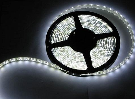Flexible Ultra Bright White 5050 LED Light Strip 12V