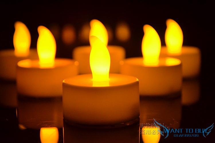 Lights That Look Like Candles Image Antique And Candle