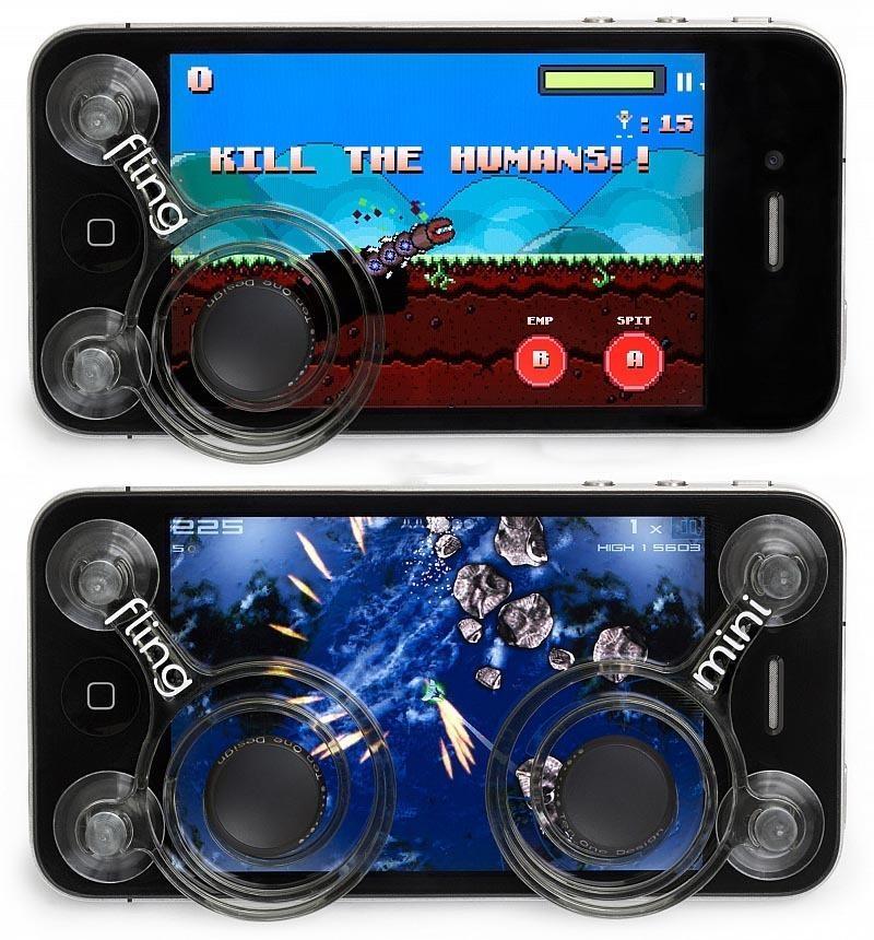 FLING Mini Joystick Controller Mobile Legend King iPhone Android. ‹ ›