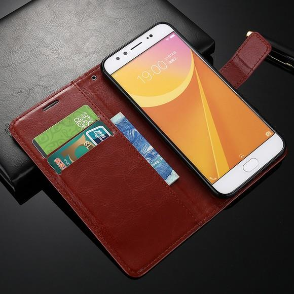 Flip Case Vivo X9i PLUS Y35 Y37 Y51 Cover Leather Wallet Casing