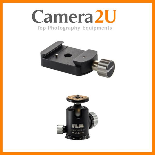 FLM CB-32F SIMPLE TRIPOD BALLHEAD WITH FRICTION + SRB-40 + QRP-50 (CB3