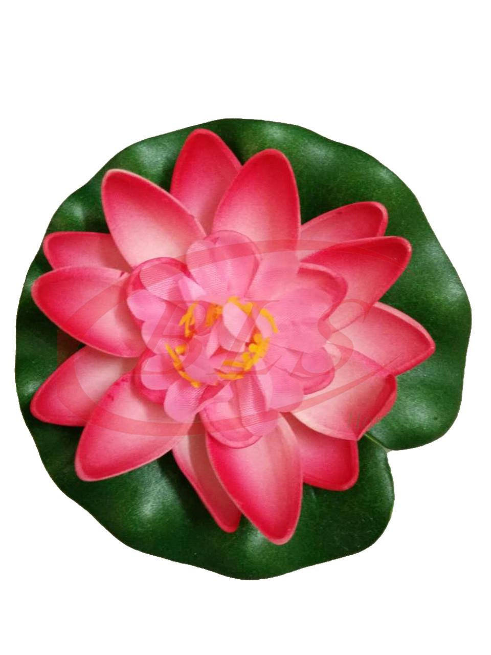 FLOATING ARTIFICIAL LOTUS FLOWER 6 (end 12/11/2019 8:15 AM)