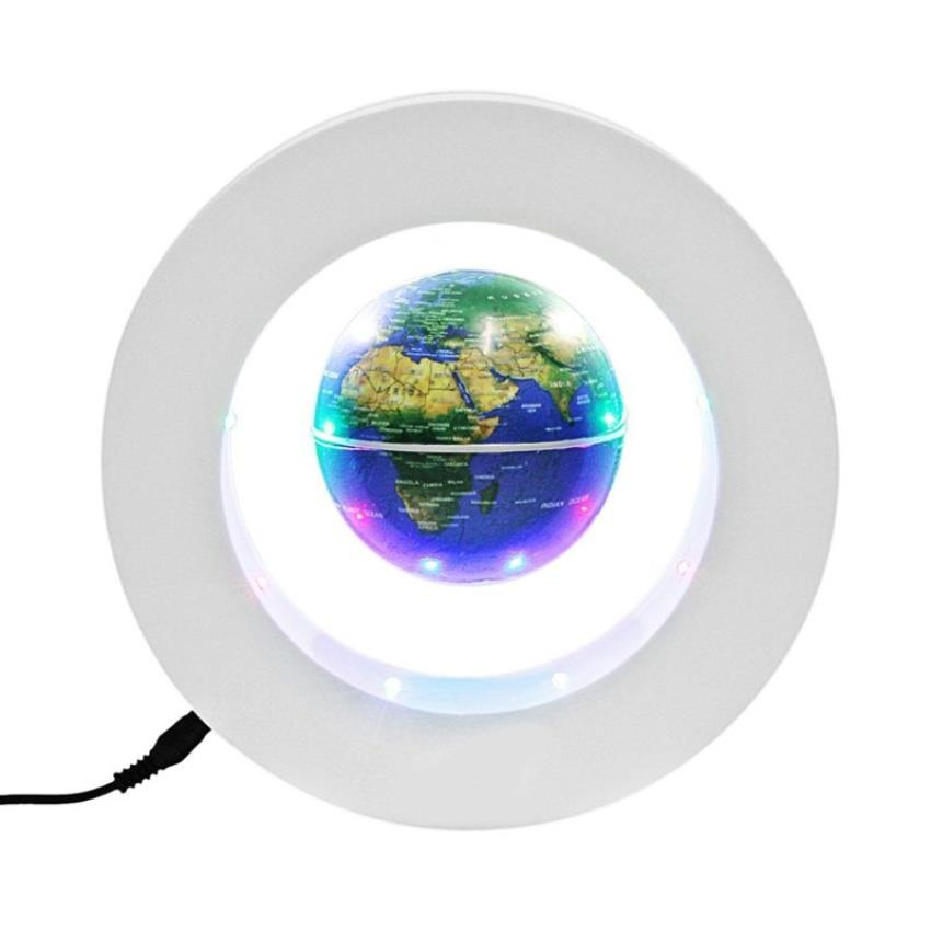 Floating globe o shape led light wo end 10312018 315 pm floating globe o shape led light world map magnetic levitation gumiabroncs Image collections