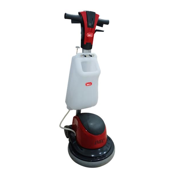 Floor Scrubber Machine IMEC P End PM - How to use a floor scrubber machine