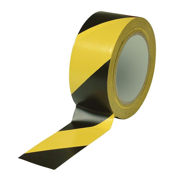 Floor Tape 48mm X 30m For Safety And Hazard Warning Tape Yellow/Black