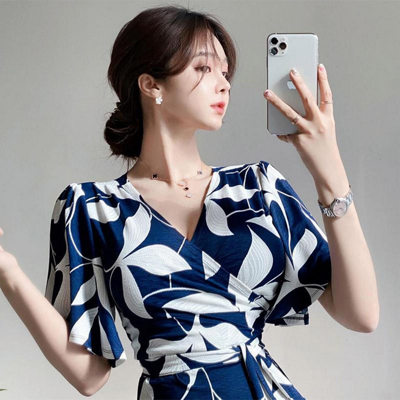 Floral Print Women Loose Fit Dress