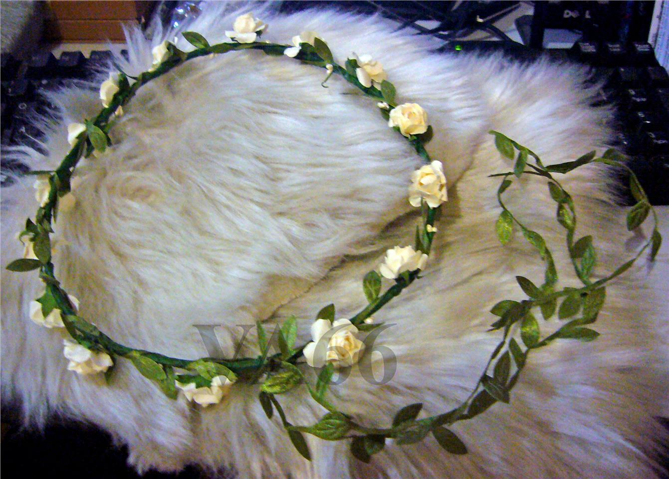 Flower girl hair wreath bridal flo end 2132017 1202 am izmirmasajfo Image collections