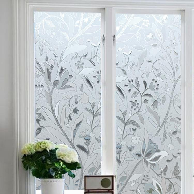 Flowers Pattern Frosted Glass Windo End 12 30 2018 1 08 Pm
