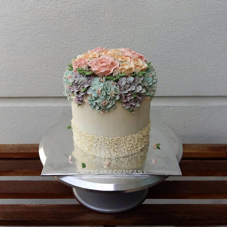 Flowery Buttercream Birthday Cake P End 4 23 2019 6 15 Pm