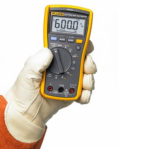 FLUKE 117 Electrician?s Multimeter With Non-Contact Voltage