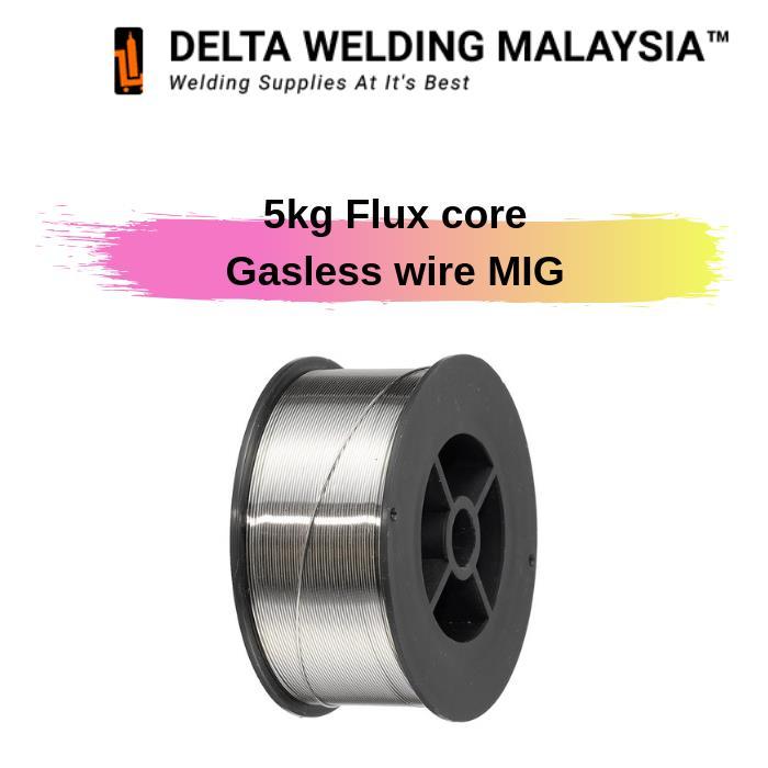 Flux core gasless welding wire Malaysia - 0 8mm ( 5 kg )