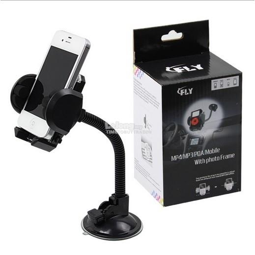 Fly Car Universal 360 Degree Car Mount GPS Holder
