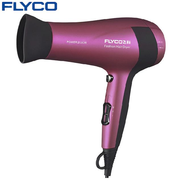 Flyco Professional Anion Function Hair Dryer Hot and Cold Salon