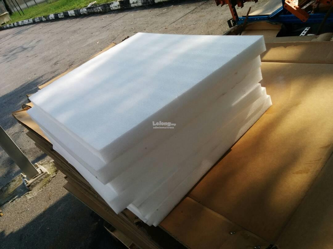 Foam roofing & wood for bird nest farming block heat control
