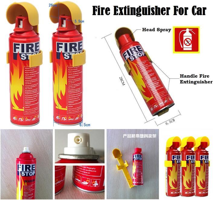 Foam Stop Fire 500/1000 ML Extinguisher Portable Spray Car Home