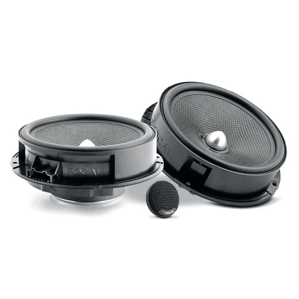 FOCAL INTEGRATION PLUG & PLAY IS 165 VW 2-WAY COMPONENT CAR SPEAKERS