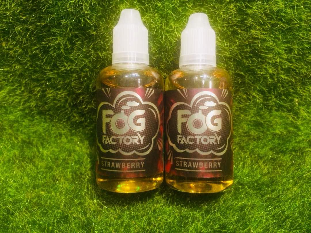 Fog factory  Strawberry(6MG @ 50ML) E Liquid Vape Juice