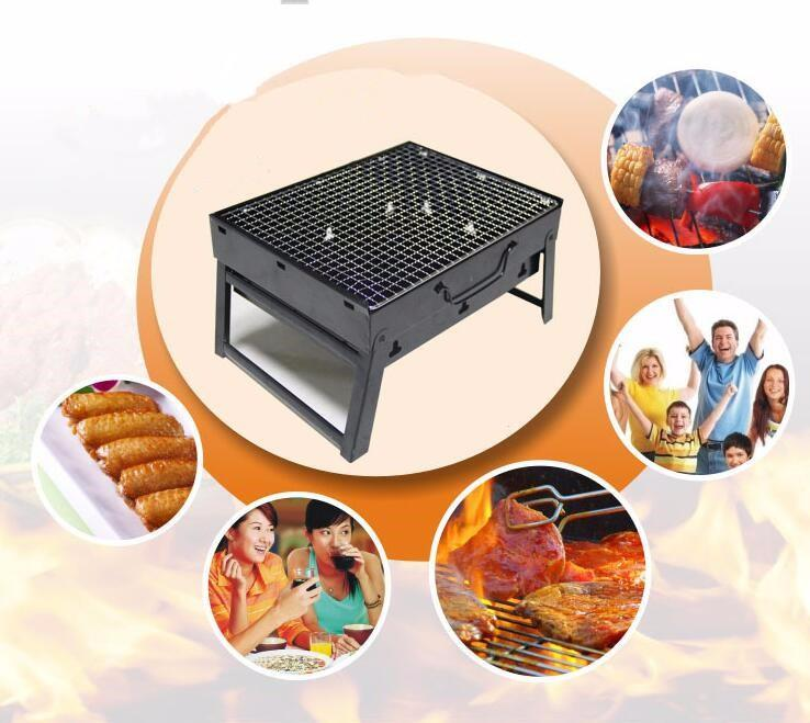 Foldable BBQ Grill Table
