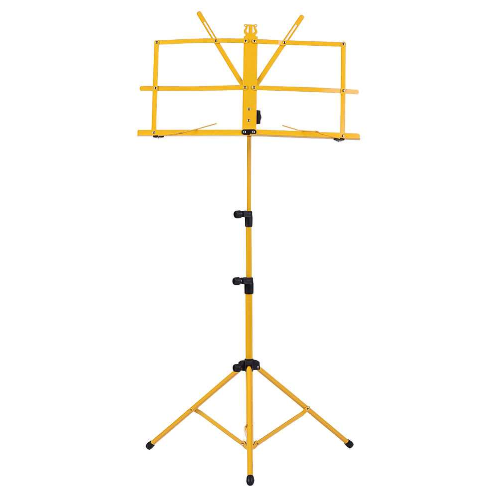 Foldable Sheet Music Tripod Stand Holder Lightweight Water-resistant