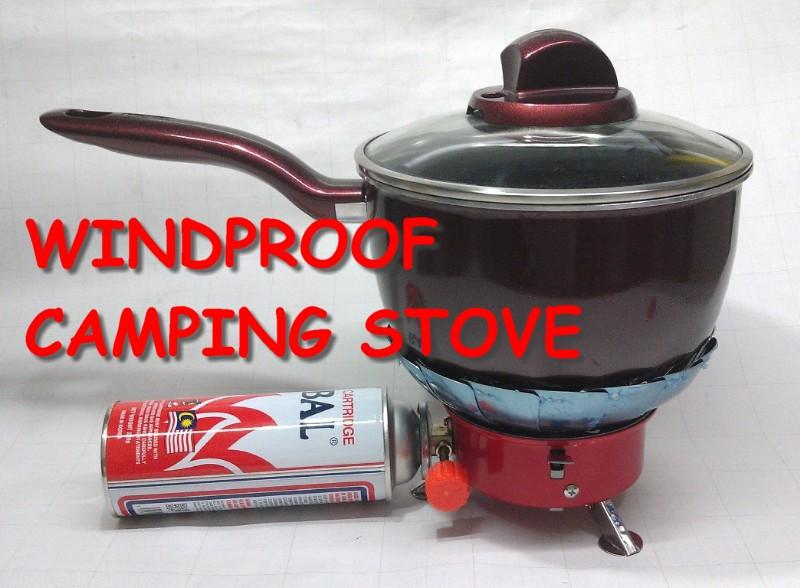 Foldable Windproof Butane Camping Stove
