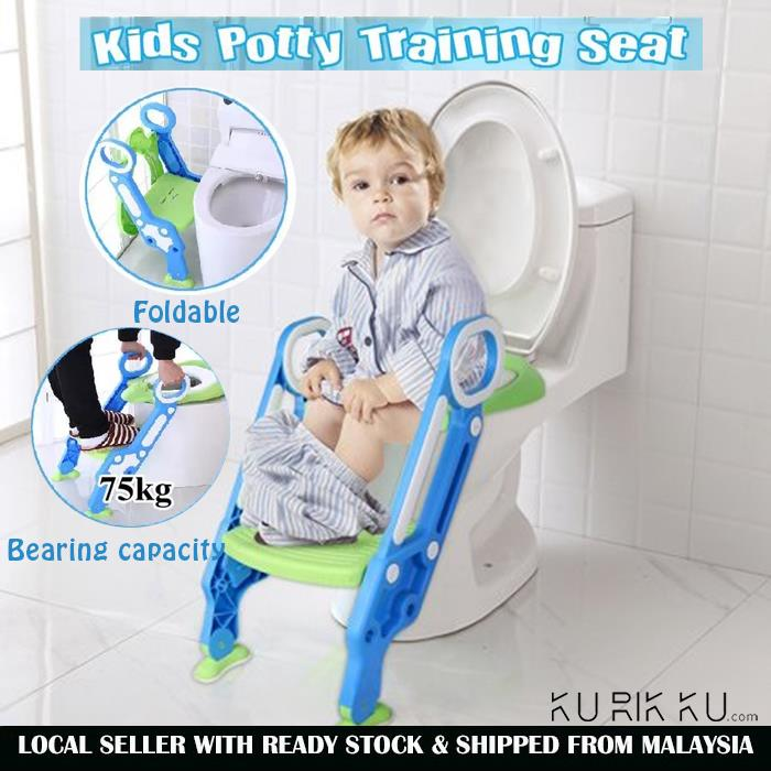 Awesome Folding Baby Toilet Seat Children Potty Chair Training Toilet Ladder Evergreenethics Interior Chair Design Evergreenethicsorg