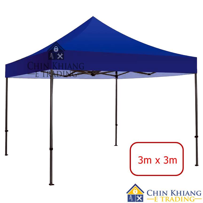 Folding Canopy Tent Grade A Khemah 3030 Blue - 3m x 3m  sc 1 st  Lelong.my & Folding Canopy Tent Grade A Khemah 3 (end 4/4/2018 11:15 AM)
