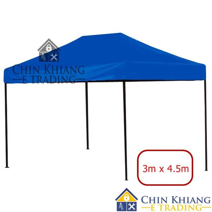 Folding Canopy Tent Grade A Khemah 3045 Blue - 3m x 4.5m  sc 1 st  Lelong.my & Folding Canopy Tent Grade A Khemah 3 (end 4/4/2018 11:15 AM)