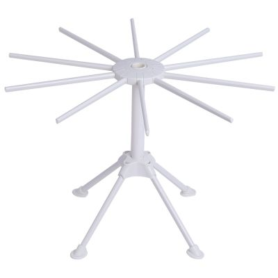 Folding Noodles Drying Rack Spaghetti Hanging Holder (WHITE)