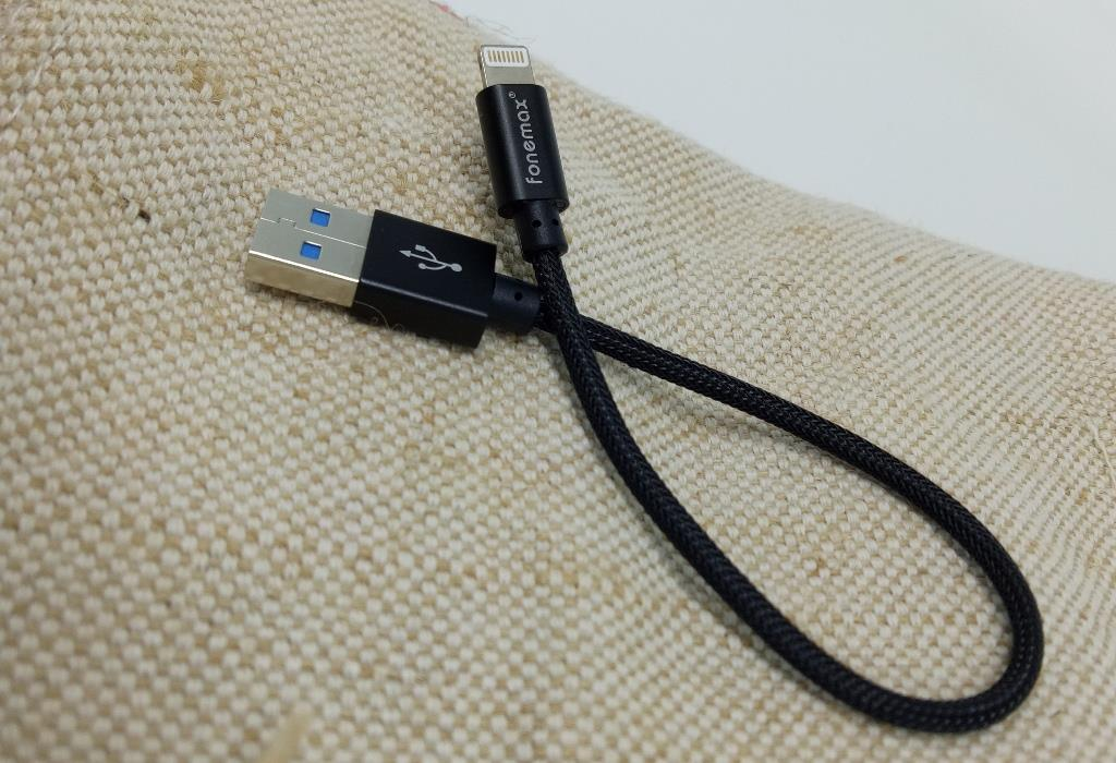 FONEMAX ULTRA-STRONG iphone 2.4AFast Charging Data Cable 0.2m/1.2m/2.0