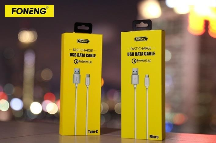 FONENG QC 3.0 Fast Charge Type-C USB Cable