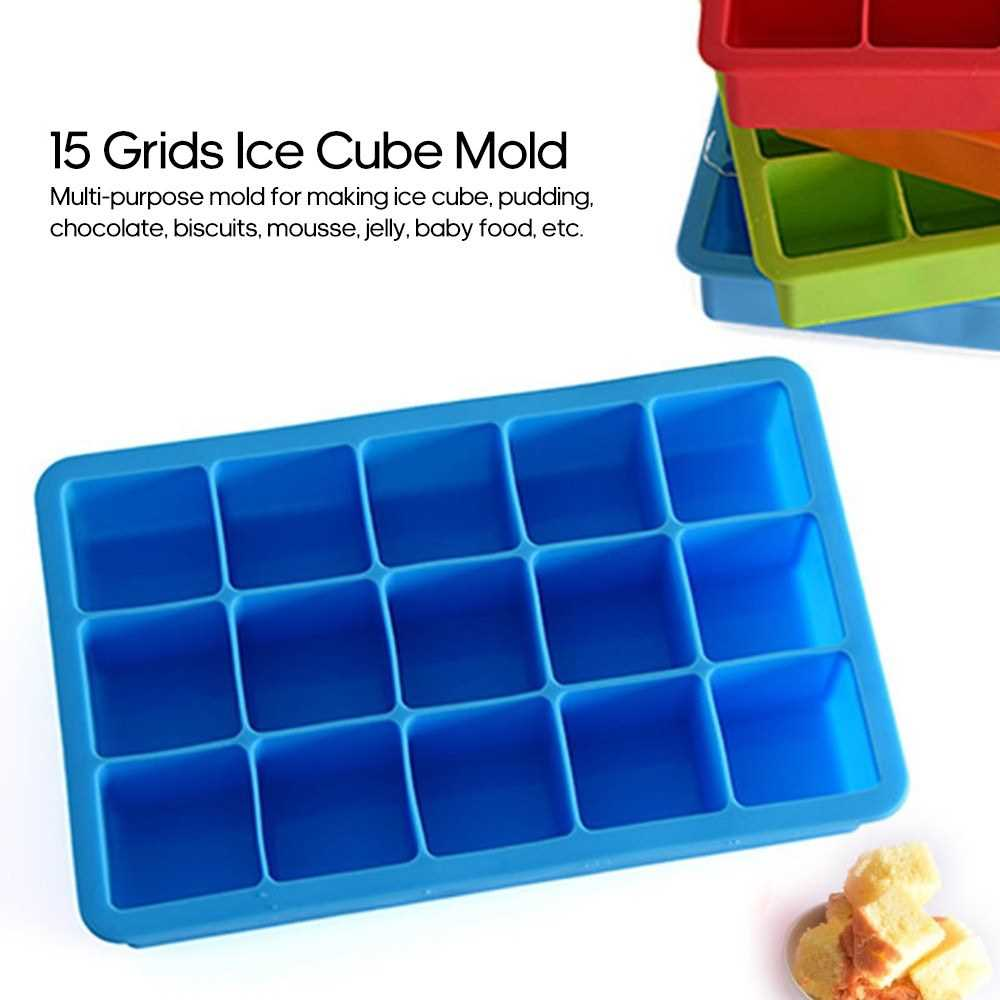 Food Grade Silicone Ice Cube Tray 14 Grids Ice Cube Mold Small Ice Mak