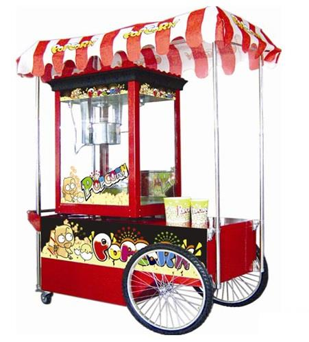 Food Machine Popcorn machine with cart ID559175